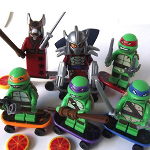 TMNT - 6 Piece Building Bricks - $12.50 with FREE Shipping!